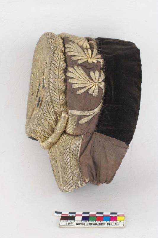Повойник - женский головной убор Период создания: XIX век