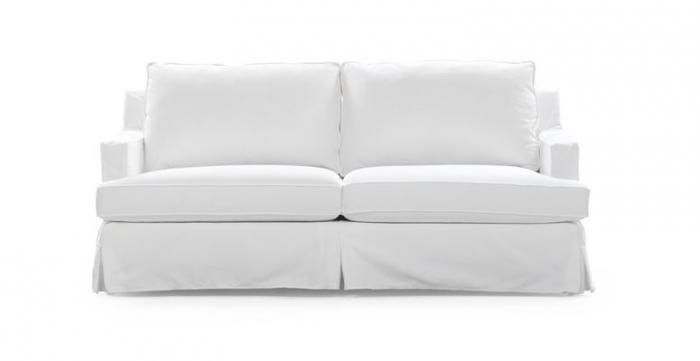 10 Easy Pieces The Perfect White Sofa Couch Products And Gold