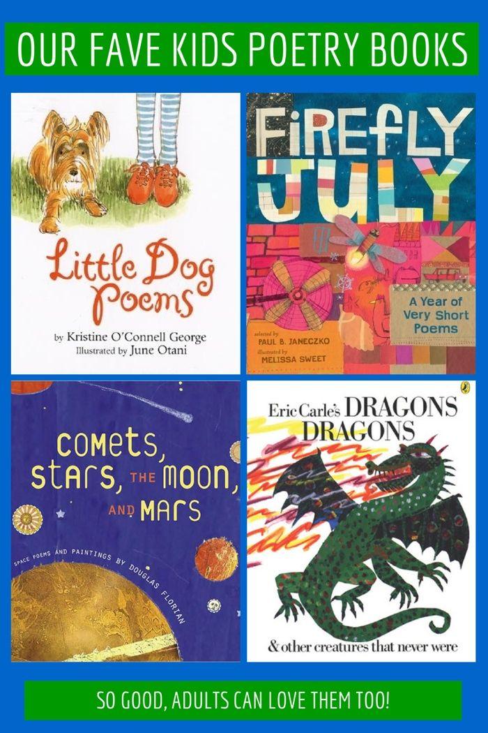 our favorite kidsu0027 poetry books