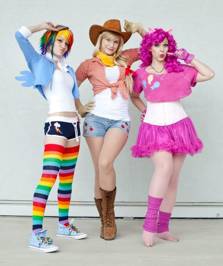 Rainbow Dash, Applejack and Pinkie Pie - My Little Pony - Pinkie Pie