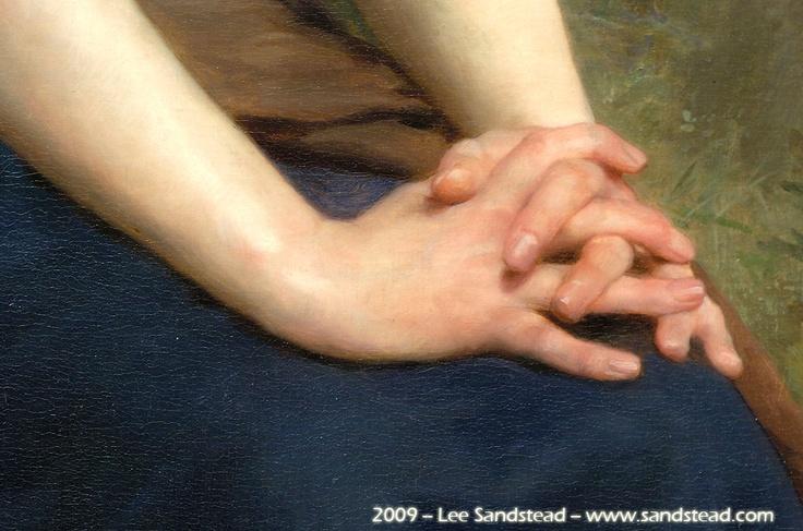 Bouguereau hands