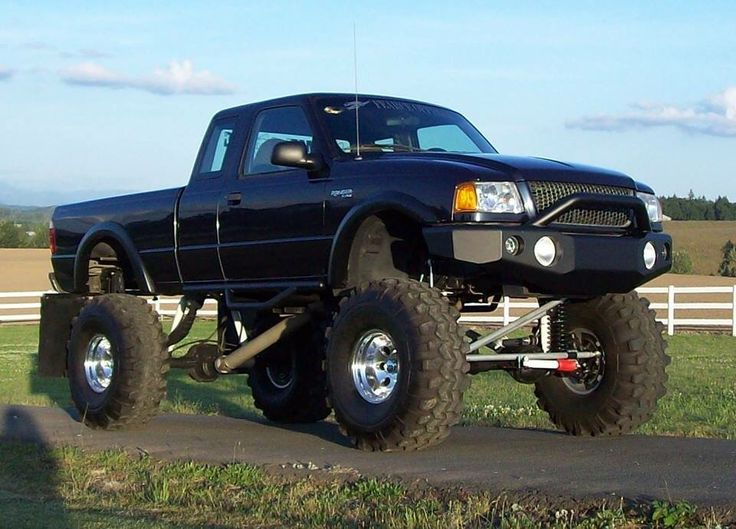 Lifted Ford Ranger   F150/Ranger   Pinterest   Lifted ford, Ford ranger and Ford
