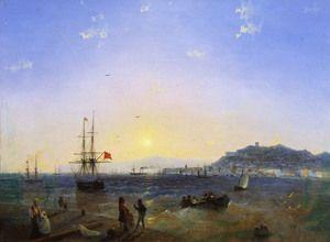 View of Kerch (1839)  Ivan Konstantinovich Aivazovsky