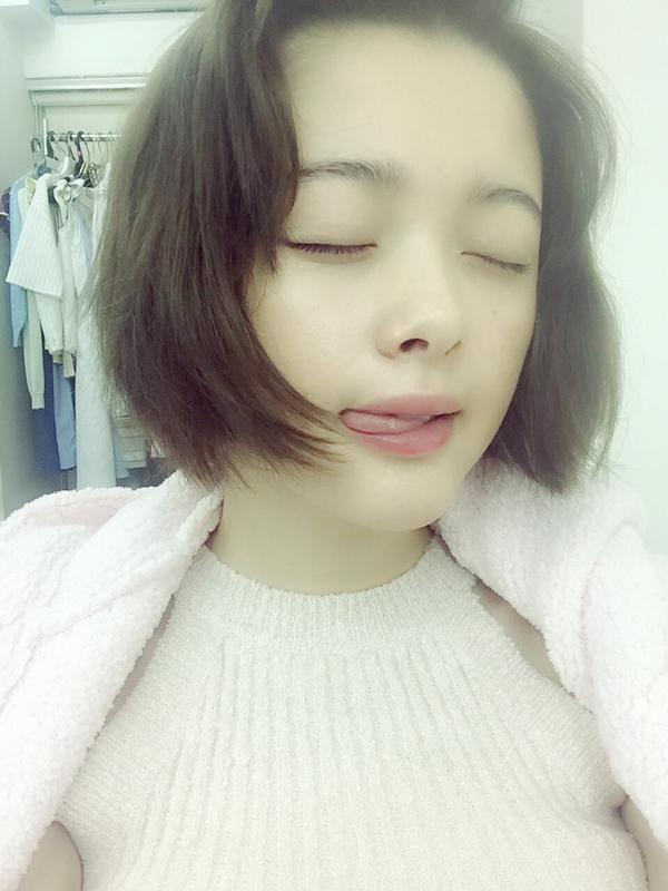 tina tamashiro // selfie // Twitter