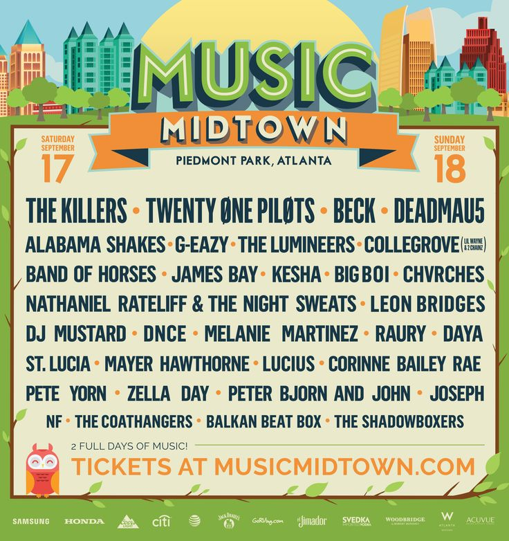 Music Midtown | Piedmont Park, Atlanta
