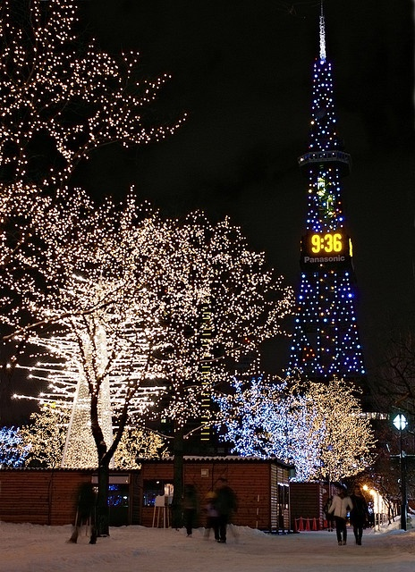 さっぽろTV塔(北海道) Sapporo TV Tower, Sapporo, Hokkaido