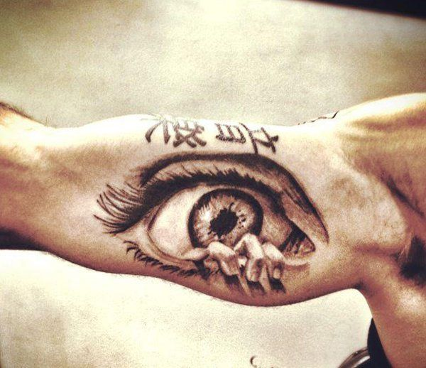 23 Best Amazing Tattoo Quotes For Men Images On Pinterest: 50 Crazy Eye Tattoos