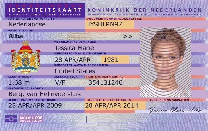 Fake Netherlands Green Card National Id Fake Id Certificates Online Driving License Birth Certificate