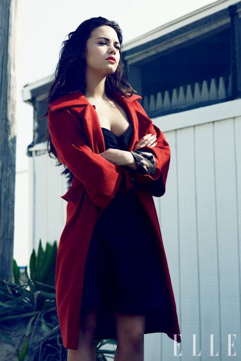 Demi Lovato. She went through so much quietly and gracefully. She struggles with Bipolar Disorder and and Bulimia and cutting. And she's using her experiences to help others, without whining. Her motto is Stay Strong and I love that. Also she's GORGEOUS!