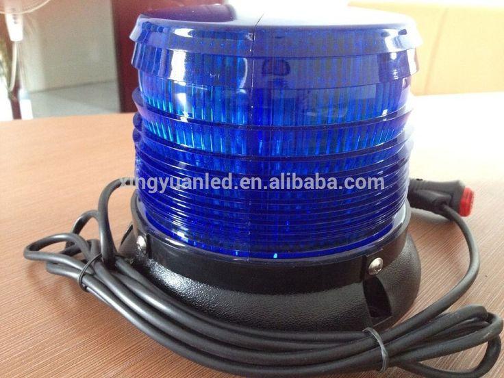 """New product! led headlight beacon light/ Blue or Red Fire ball led strobe light for rv access,Mazda,toyota corolla"""