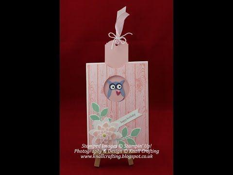 Owl Slider Card - YouTube