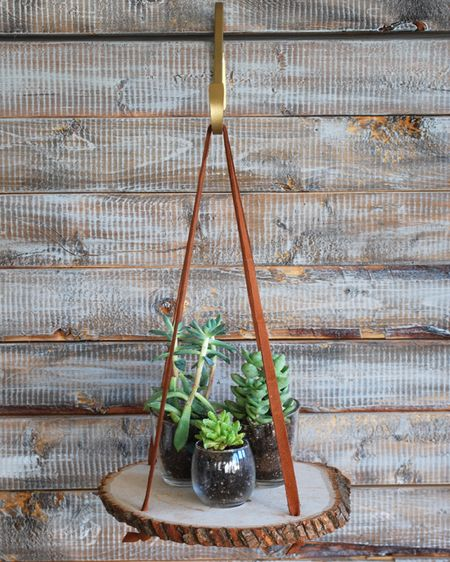 Add a little rustic warmth to your home with this DIY.