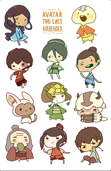 Think, that Avatar the last airbender fan characters