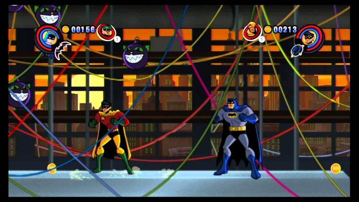 Batman The Brave And The Bold para Wii. Es un juego divertido de acción y aventura para pasar un buen rato con tu familia y amigos. Ponte en la piel del cruzado de la capa y reparte tu propia idea de justicia en un juego cargado de acción, que a buen seguro sacará tu lado más heroico.