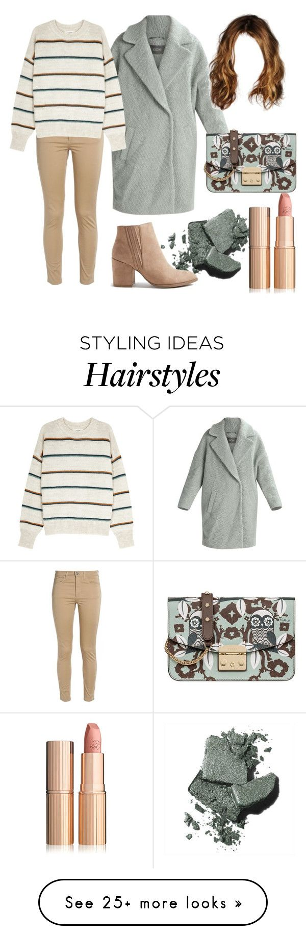 """Calm and cozy"" by aleks-stanisavljevic on Polyvore featuring Kiomi, Acne Studios, Bobbi Brown Cosmetics, Charlotte Tilbury, Étoile Isabel Marant and Furla"