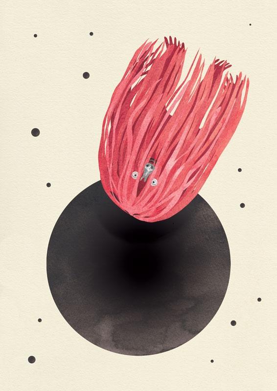 Falling in a black hole - Elisa Macellari