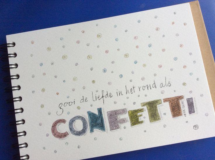 Quotes dutchlettering !  Eigen werk Magda DeGryse