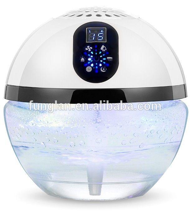funglan 168 White Electric Air Purifier Revitaliser Humidifier Air Freshener Diffuser - Dust Bad Odour tobacco fumes Allergens