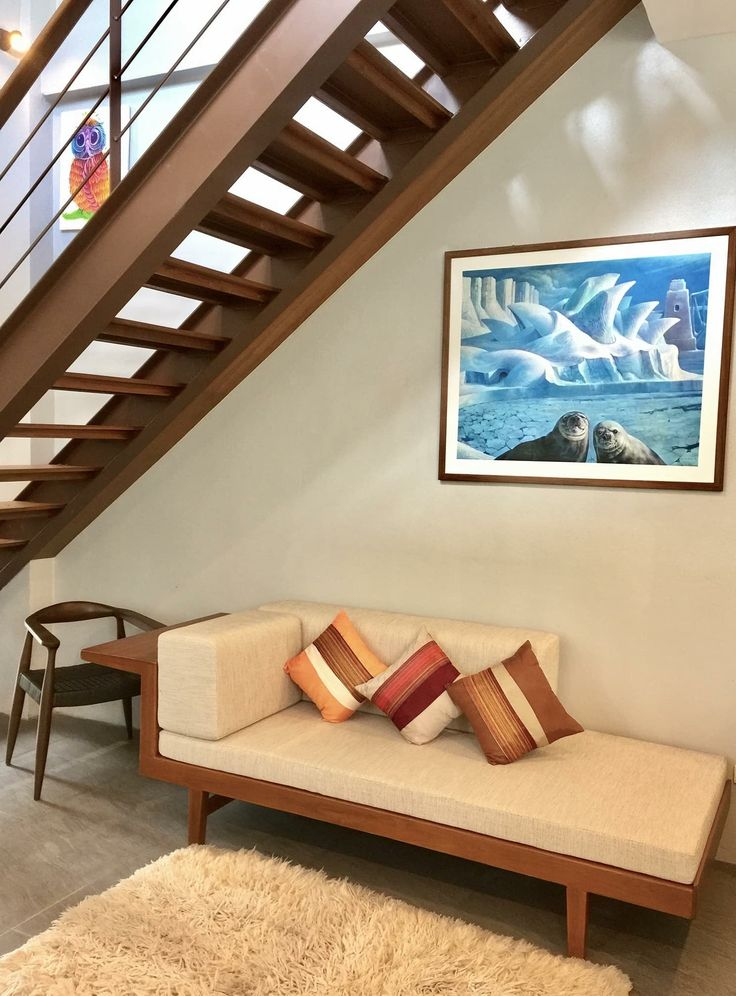 Day Bed Sofa Under The Stairs Interior Ideas In 2019