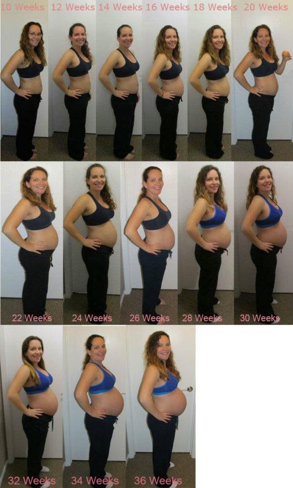 20 недель беременности фото