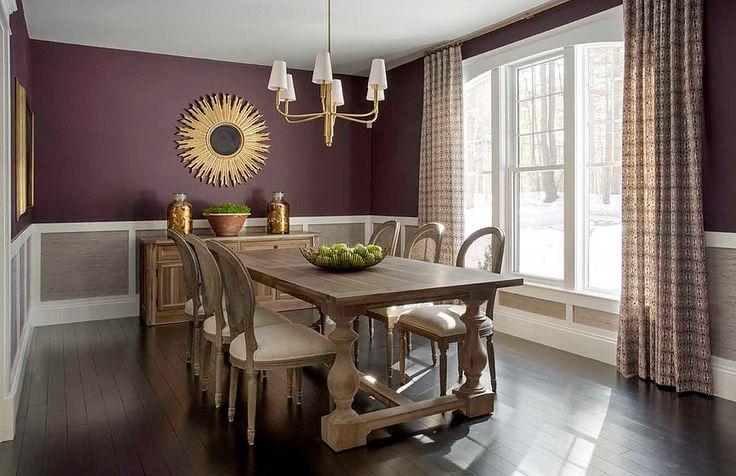 7 besten Dinning Room Bilder auf Pinterest Lila esszimmer