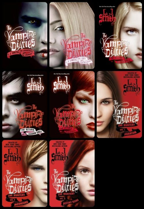 The Vampire Diaries Series By: L. J. Smith