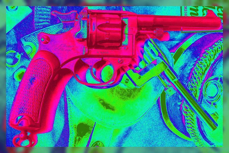 Wharol revolver