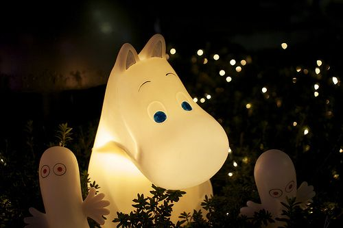 Moomin. Lamp.  I  loved the moomins. When I was. Little. Want. This lamp badly…
