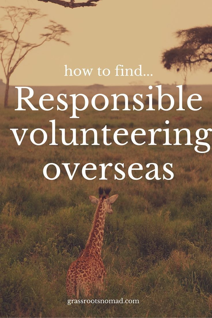 More and more people are looking for volunteer work overseas or to combine their holidays with volunteering (voluntourism). But what are the ethical considerations, particularly when volunteering at an orphanage or with animals? This guide shows you how to find volunteer work overseas that is ethical, responsible and genuinely makes a difference