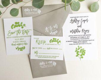 17 Best Ideas About Custom Wedding Invitations On Pinterest