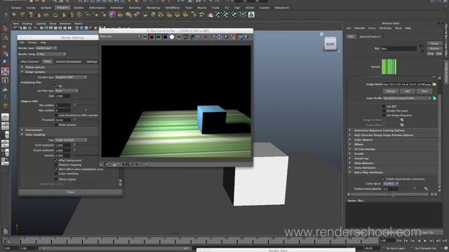 This video is all about setting up linear workflows in Vray for Maya. It's the…