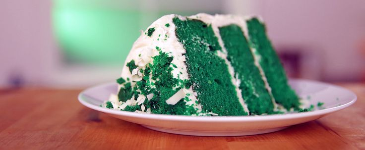 For the office St. Patrick's Day potluck!