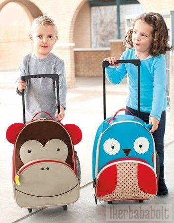 ZOO bőrönd többféle mintával