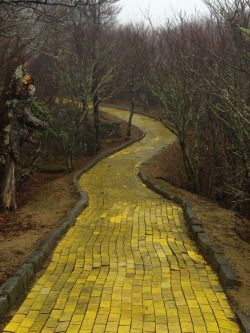 Abandoned Wizard of Oz theme park, January 2015
