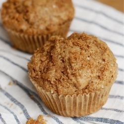 Brown Sugar Banana Bread Muffins