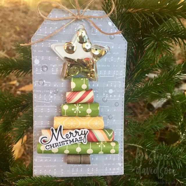 In My Creative Opinion: The 25 Days of Christmas Tags 2017 - Day 17