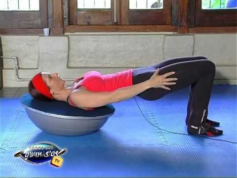 BOSU Pilates   #BOSUstrong Challenge Week 3 - YouTube