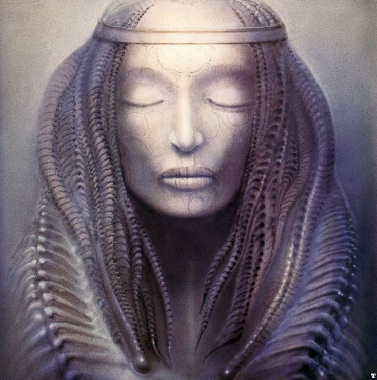 Emerson, Lake and Palmer - Brain Salad Surgery (1973), album insert by H.R. Giger