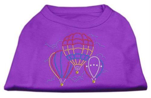 Aus der Kategorie Shirts, Sweater & Hoodies  gibt es, zum Preis von EUR 66,09  Hot Air Balloon Strass Shirts Lila XL (16 Produkt-Zusammenfassung: Dog Shirts / Strass Shirts / Hot Air Balloon Strass Shirts