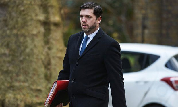 Stephen Crabb wrote on Facebook before his new appointment that he backed the cut since recipients were 'able to work'.