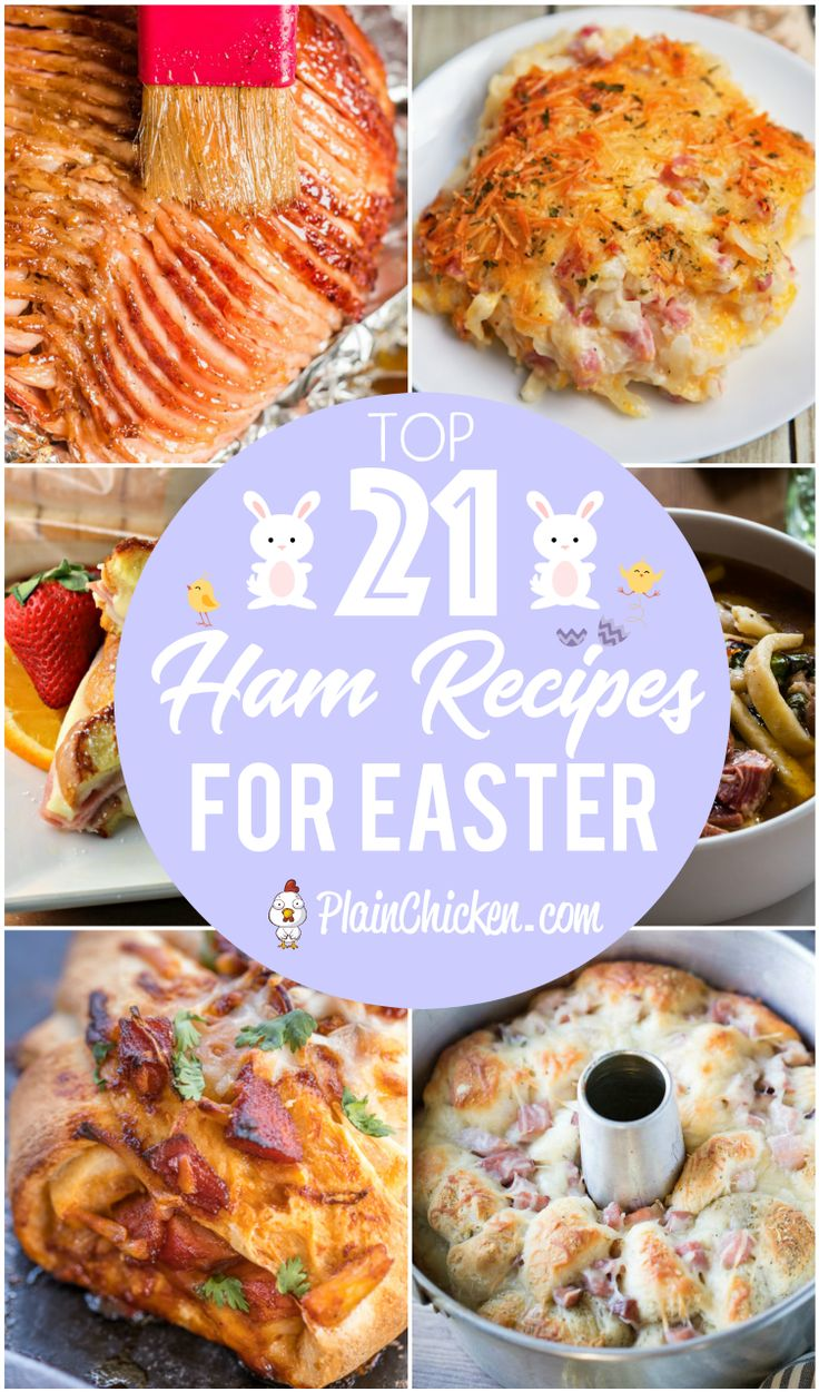 Top 21 Ham Recipes for Easter