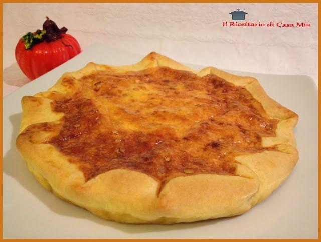 Torta Salata di Zucca e Pancetta