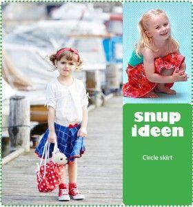 Circle skirt, super easy   - stof2000.dk