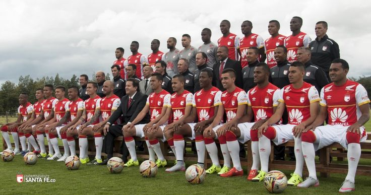 [Galería de Fotos] Foto Oficial Equipo profesional Independiente Santa Fe 2015  http://independientesantafe.co/