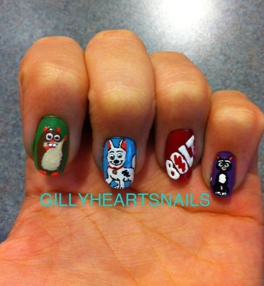 Mulan Inspired Nails: 77 Best Images About Disney Nails On Pinterest