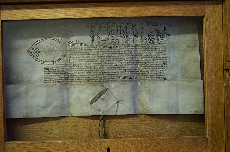 Edward IV's 1472 Charter for the town of Bewdley (Worcestershire) is housed in the Town Clerk's Office. This was awarded because the Bewdley archers had fought for Richard Duke of Gloucester at Tewkesbury in 1471.