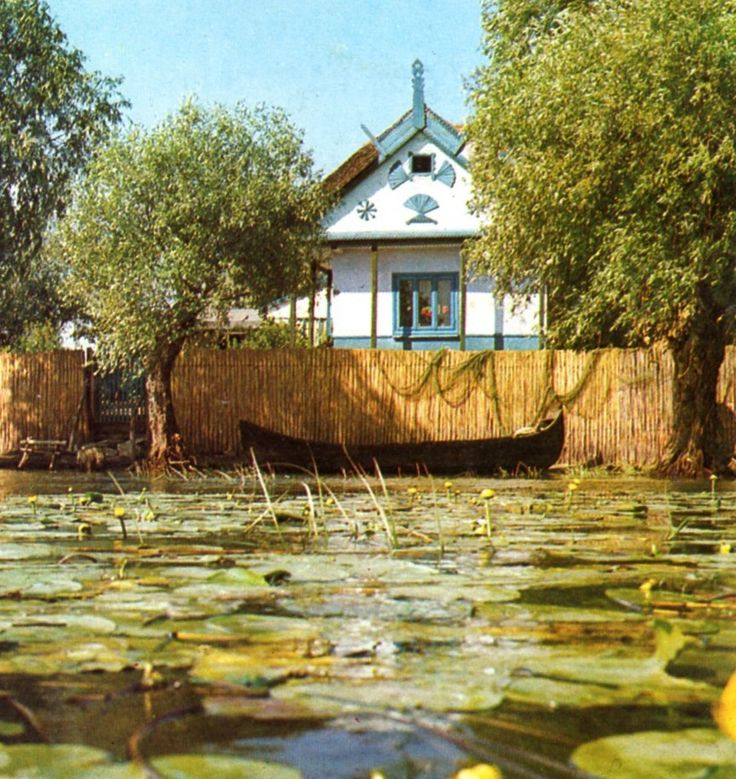 Danube delta typical house at Sontea village (also known as Mila 23)