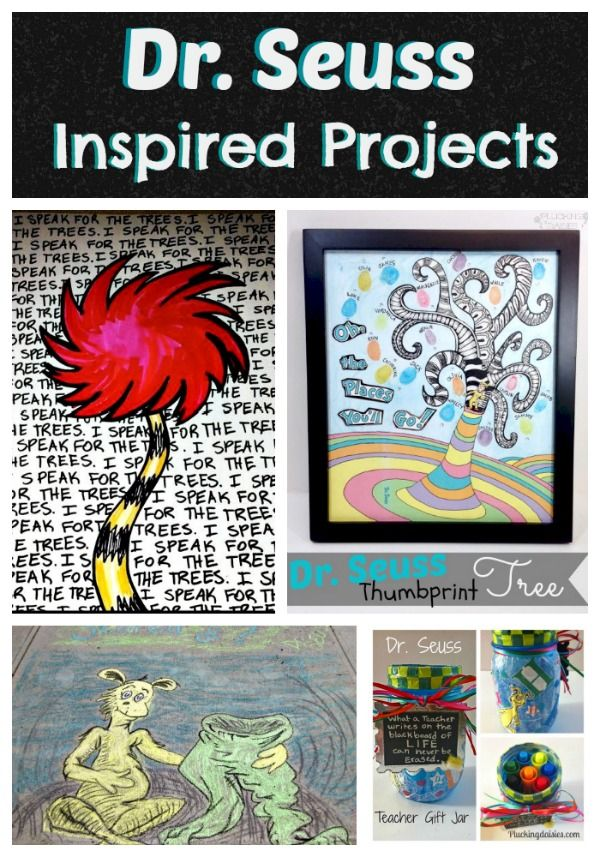Celebrating Seuss! Dr. Seuss Inspired Projects | Pluckingdaisies.com