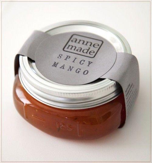 19 Personalized Jam Jar Labels. Superbcook.com Jar label idea