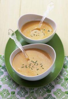 Zupa serowa wg Magdy Gessler - Kluski śląskie z pesto zupa serowa Gessler > przepisy - ofeminin